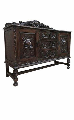 Antique Renaissance Spanish Buffet For, Antique Buffet Furniture Pieces