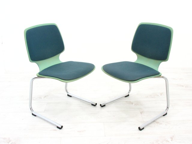 Side Chairs from Kusch+Co, 1980s, Set of 2