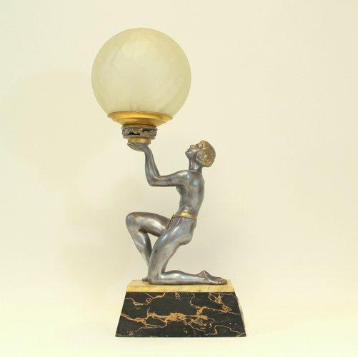 Lampada Da Tavolo Art Deco Anni 30 In Vendita Su Pamono