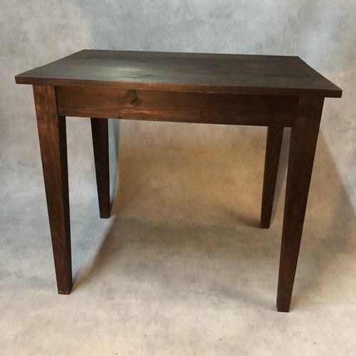 Antiker rustikaler Tisch aus Tannenholz, 1900er