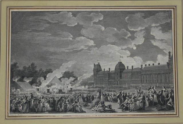 Le Revolution Francaise Original Etching By I S Helman End Of 1700 For Sale At Pamono