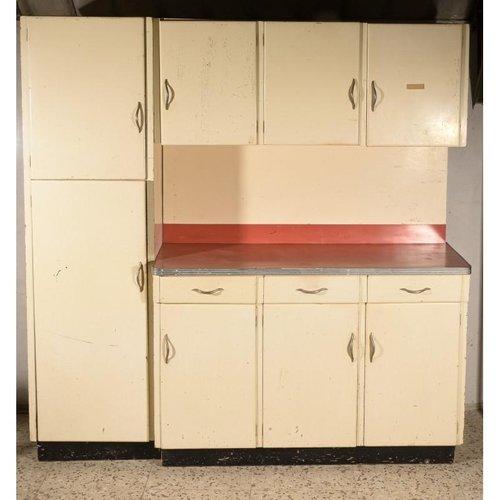 Vintage Italian Kitchen Cupboard Set 1950s For Sale At Pamono
