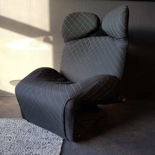 Vintage Model 111 Wink Lounge Chair By Toshiyuki Kita For Cassina For Sale At Pamono