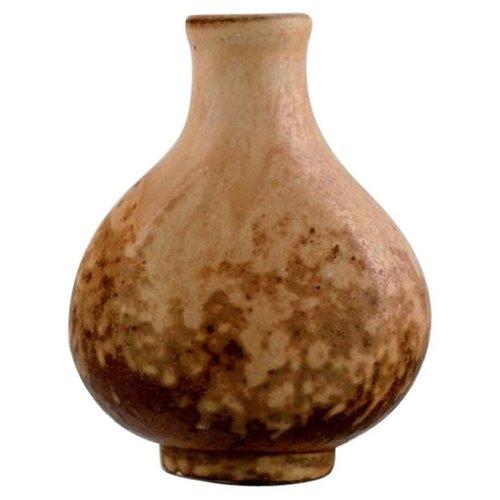 Bode Willumsen Unique Danish Studio Pottery Bowl 1940s