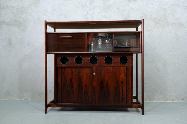Danish Rosewood Dry Bar Cabinet By Erik, Dry Bar Furniture