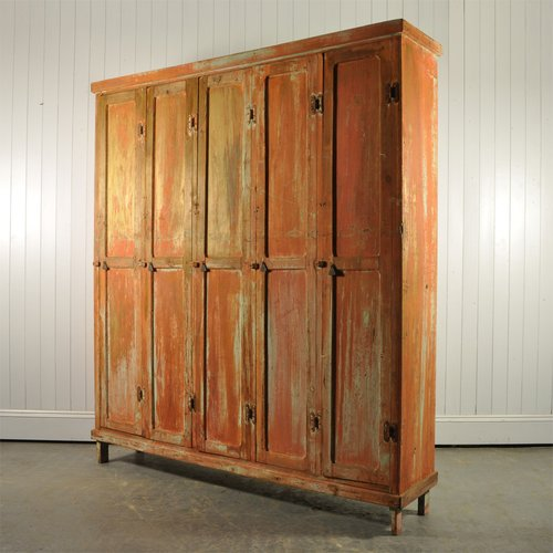 Vintage Industrial Locker Unit 1940s For Sale At Pamono