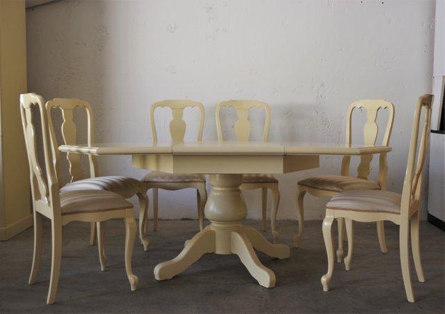 Hexagonal Extendable Dining Table, Hexagon Dining Room Table