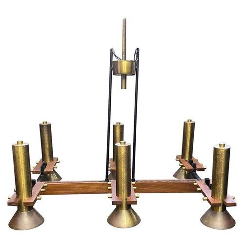Mid Century Modern Italian Rectangular, Mid Century Modern Rectangular Chandelier