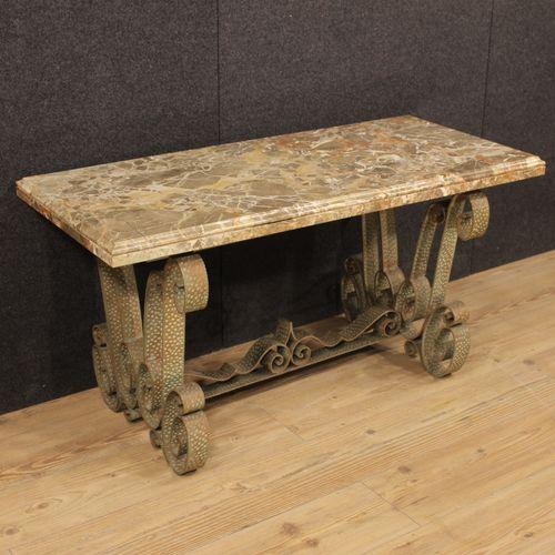 niedriger vintage marmor tisch aus italien bei pamono kaufen. Black Bedroom Furniture Sets. Home Design Ideas