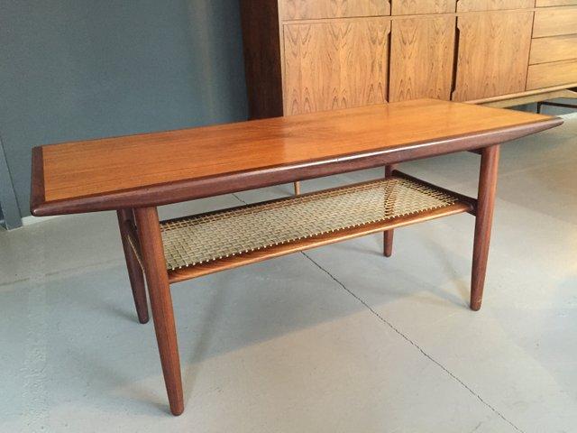 Tavolino da caff in teak di c f christensen a s danimarca 1960 in vendita su pamono - Mobili danimarca ...