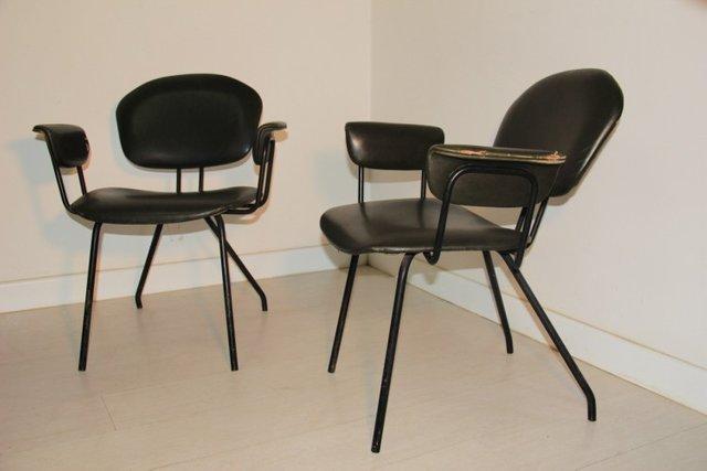 Sedia da ufficio mid century di mim anni 39 50 set di 2 in for Scrivania ufficio anni 50