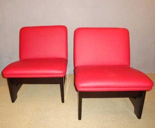 kleine sessel von a garc a 1970er 2er set bei pamono kaufen. Black Bedroom Furniture Sets. Home Design Ideas