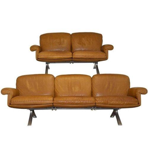 vintage ds 31 sofas von de sede 1970er 2er set bei pamono kaufen. Black Bedroom Furniture Sets. Home Design Ideas
