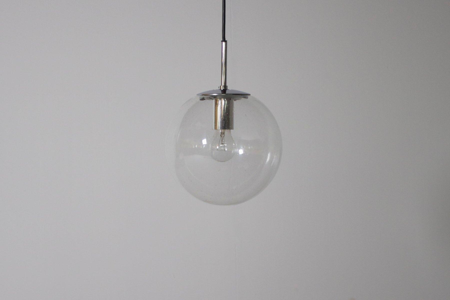 petite lampe suspension globe en verre de factory limburg allemagne en vente sur pamono. Black Bedroom Furniture Sets. Home Design Ideas