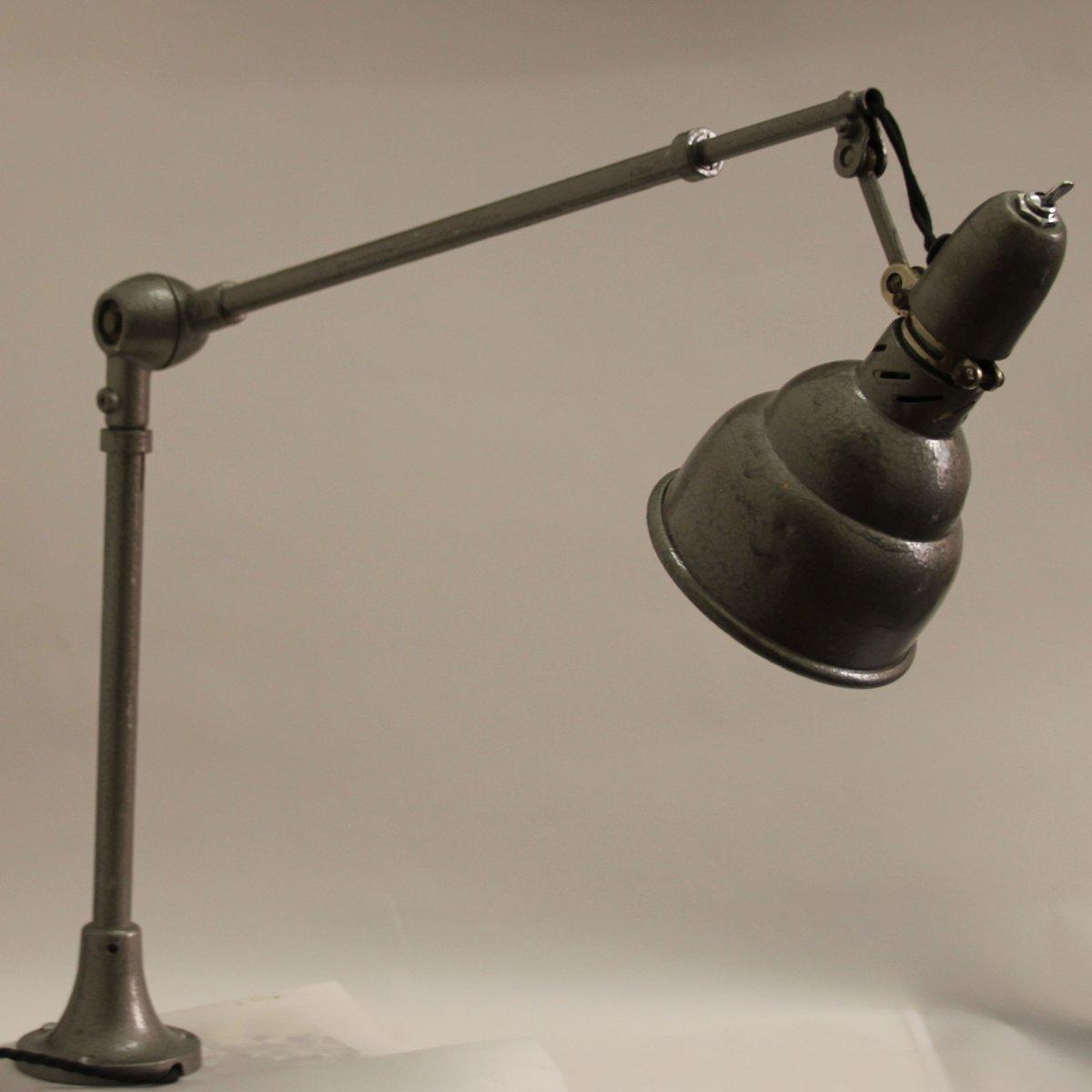 Vintage Industrietischlampe