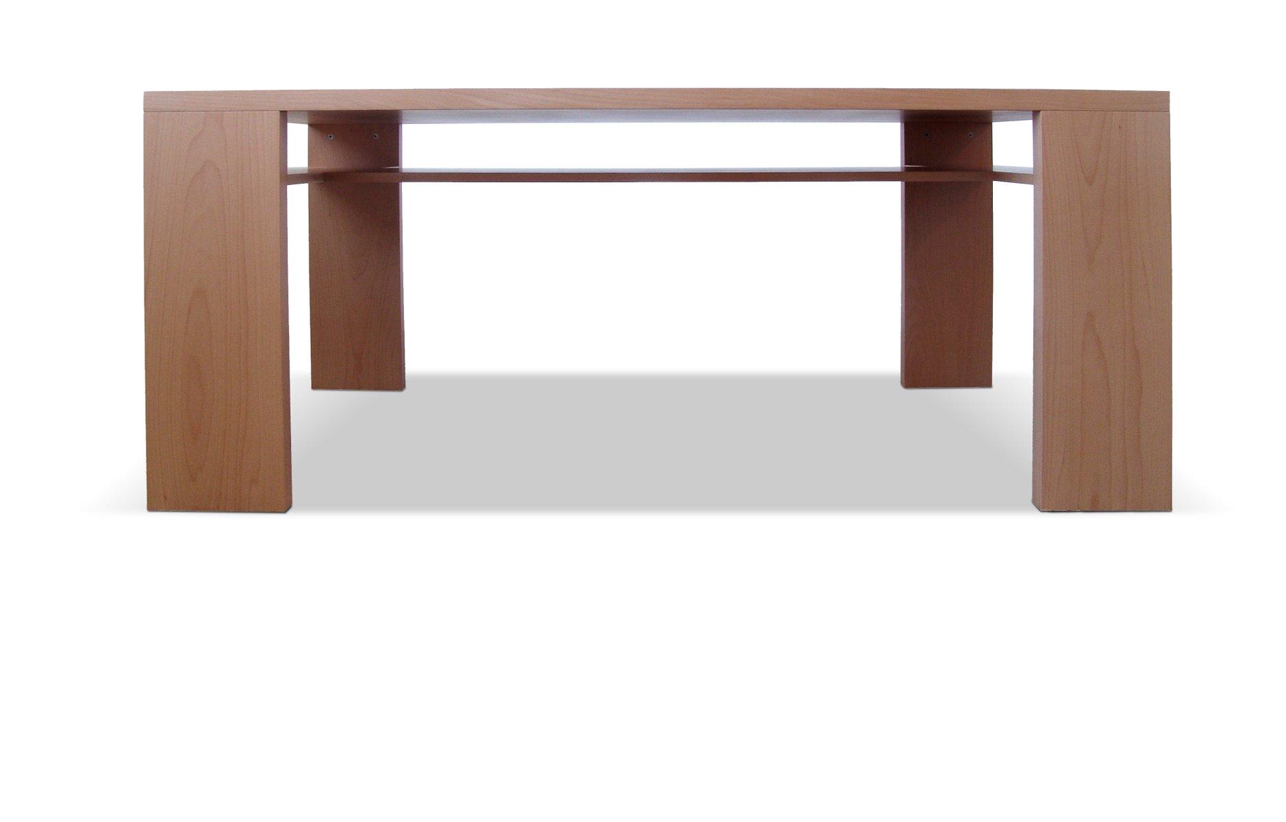 Tisch mit Verstecktem Boden von Maria Vidali für Nikos Ballis