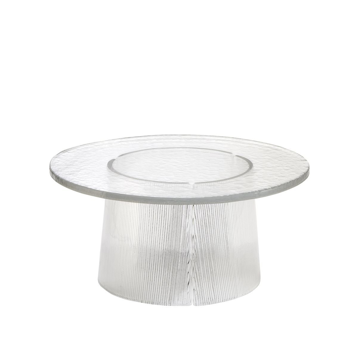 Large Bent Side Table 2375t In Transparent By Sebastian Herkner For Pulpo For Sale At Pamono [ 1140 x 1200 Pixel ]