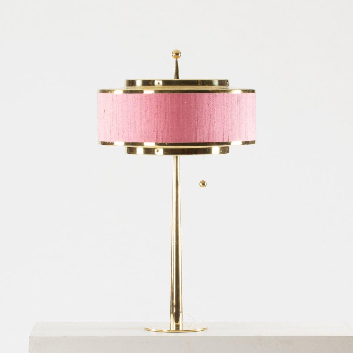 Messing Tischlampe von Hans-Agne Jakobsson
