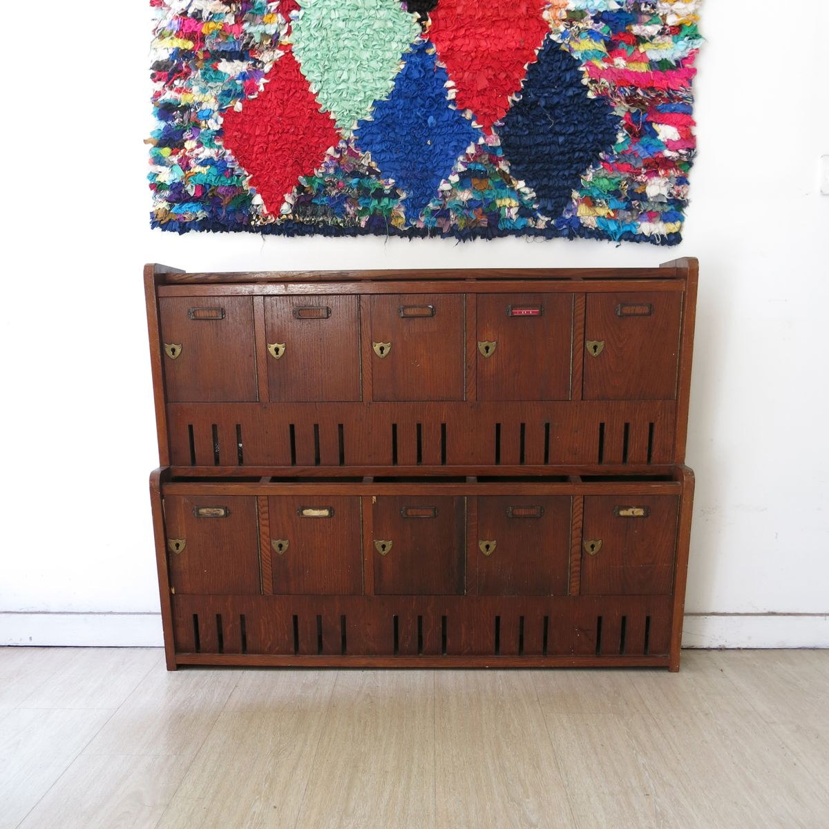 bo te aux lettres vintage angleterre en vente sur pamono. Black Bedroom Furniture Sets. Home Design Ideas