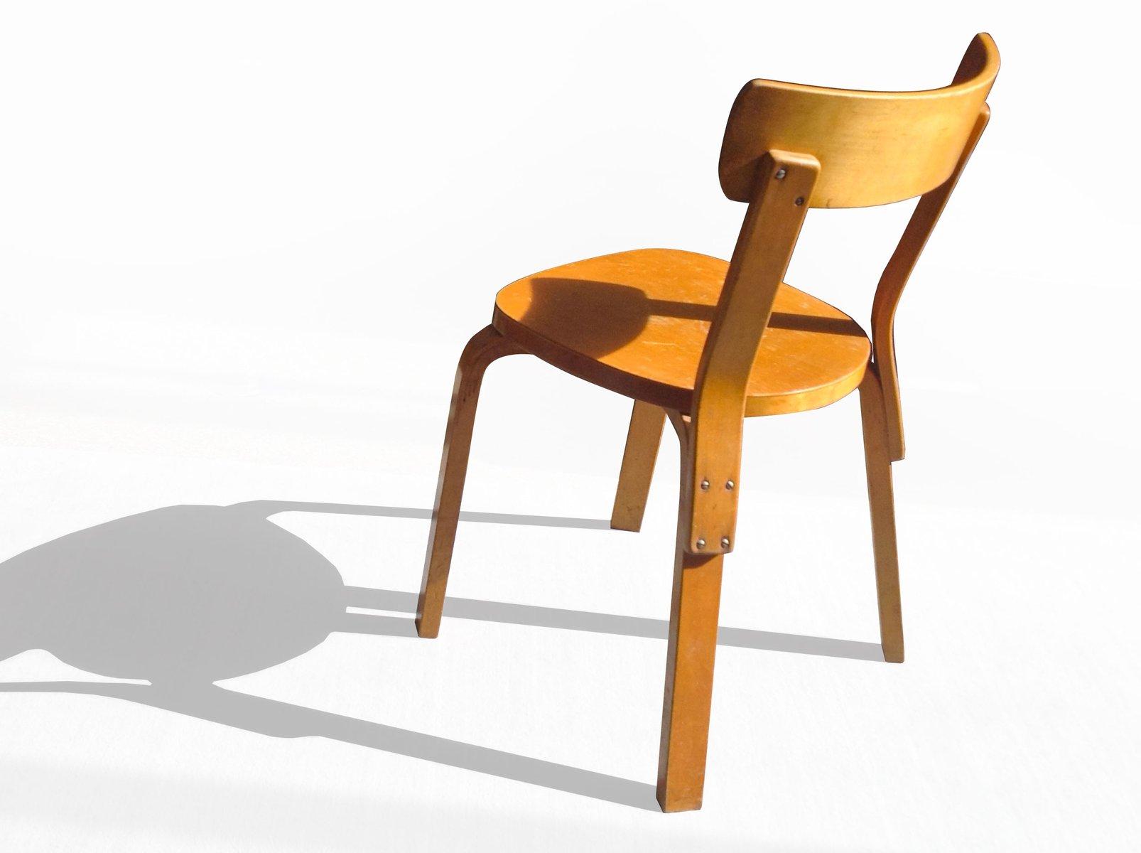 chaise d 39 appoint en bouleau par alvar aalto pour artek 1937 en vente sur pamono. Black Bedroom Furniture Sets. Home Design Ideas