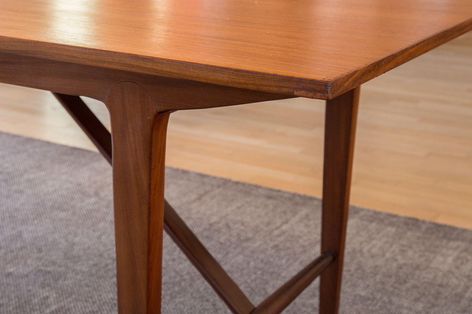 table de salle manger extensible vintage danemark en vente sur pamono. Black Bedroom Furniture Sets. Home Design Ideas