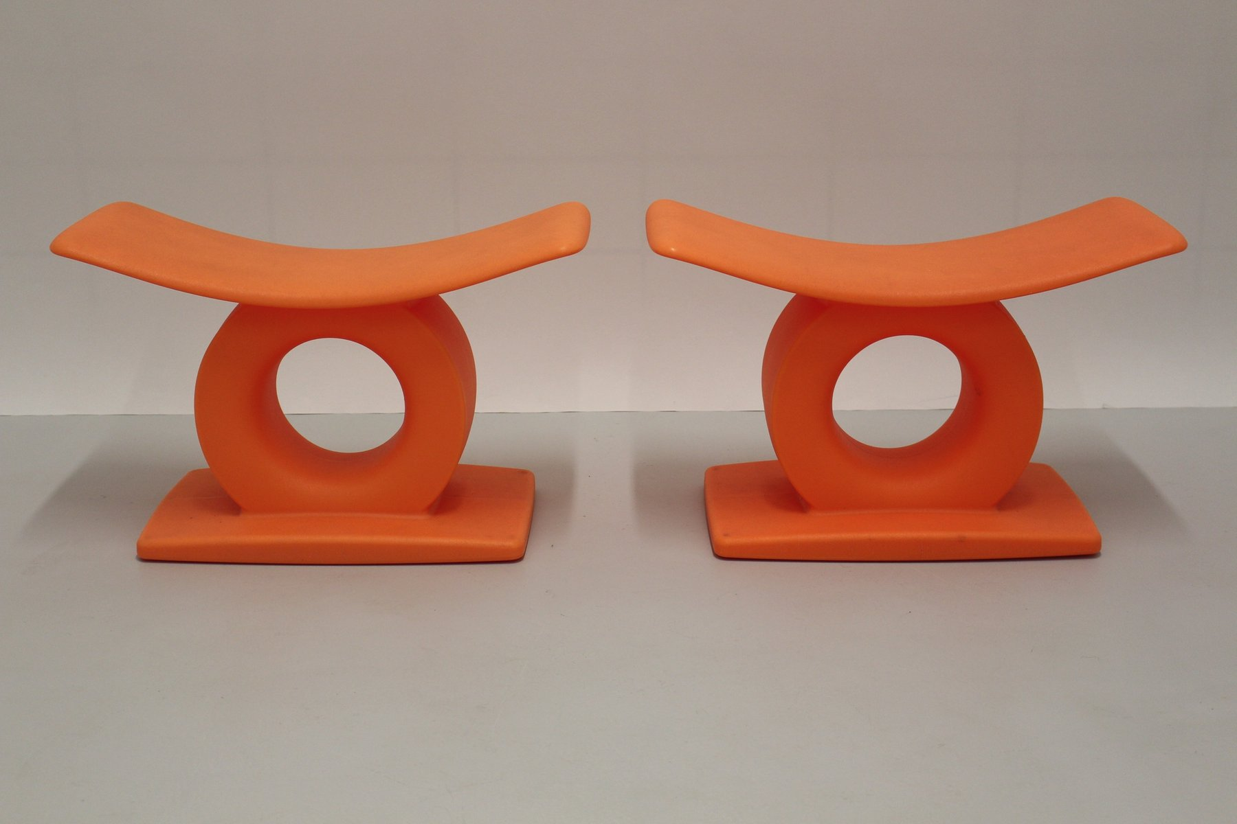 Tam tam stools by matheo thun for magis set of 2 for sale for Magis tam tam