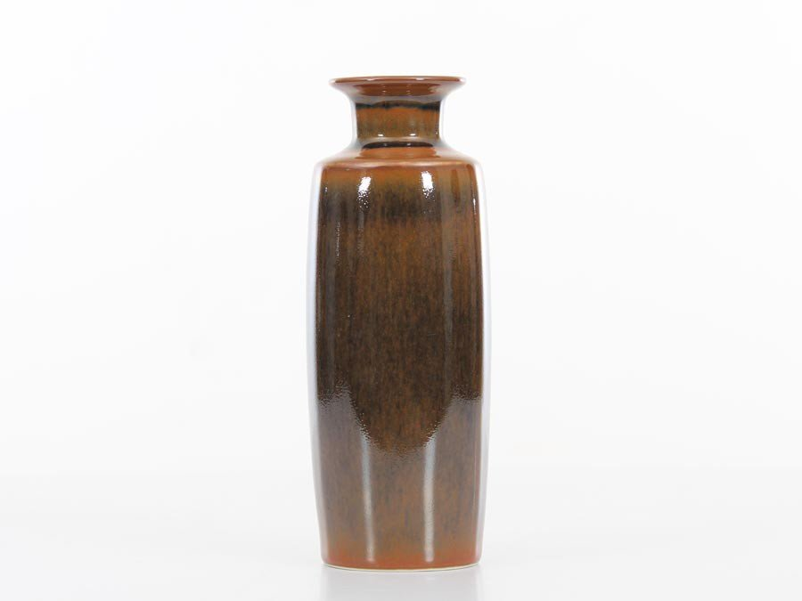 Mid Century Modern Ceramic Long Vase By Carl Harry Stalhane For