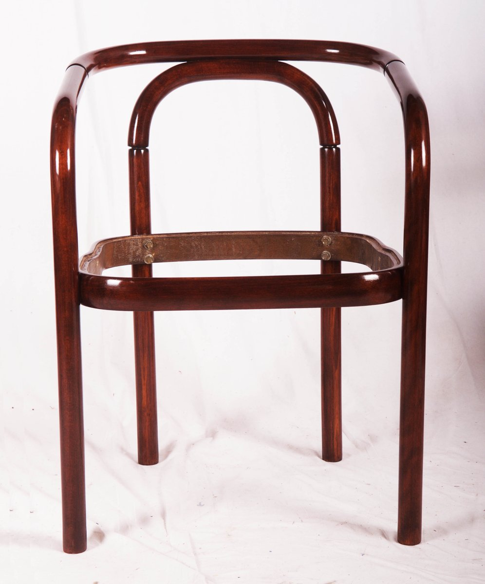 Vintage Beech Bentwood Dining Chair From TON