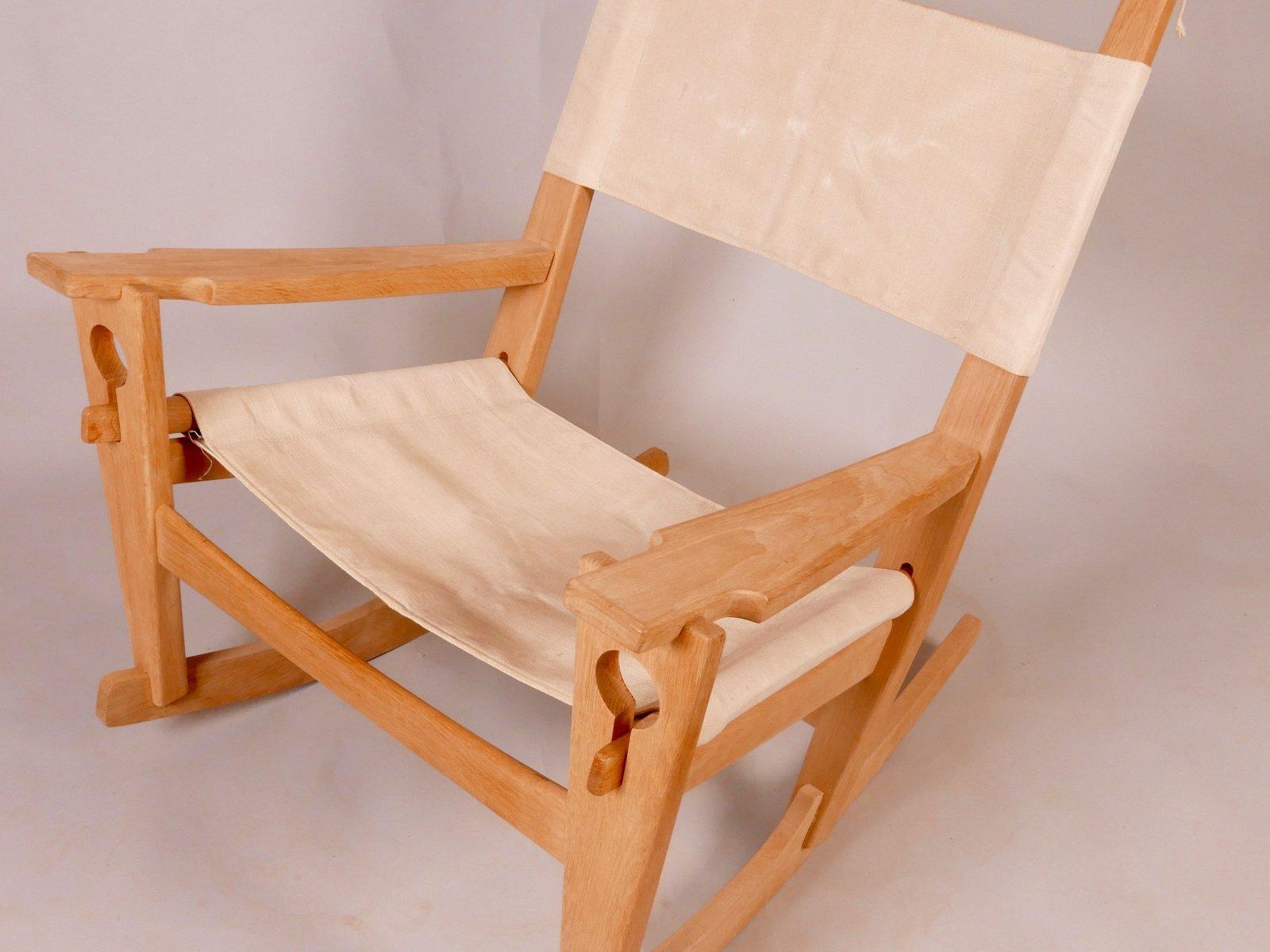 ge 673 schaukelstuhl von hans j wegner bei pamono kaufen. Black Bedroom Furniture Sets. Home Design Ideas