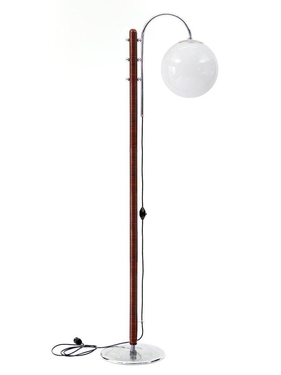 Stehlampe von Jindrich Halabala für UP Zavody, 1930er