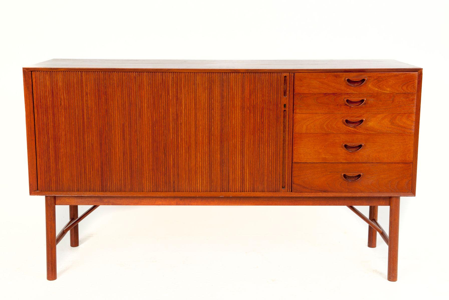 Danish Design Credenza : Sold teak credenza by danish designer kai kristiansen item