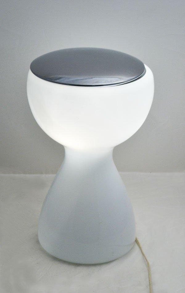 Murano Tischlampe von Vistosi, 1970er