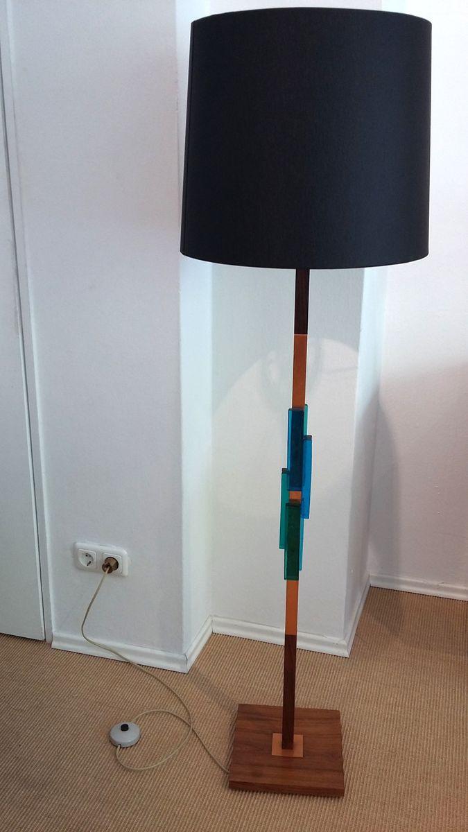 Skandinavische Palisander Stehlampe von Holm Sorensen & Co.