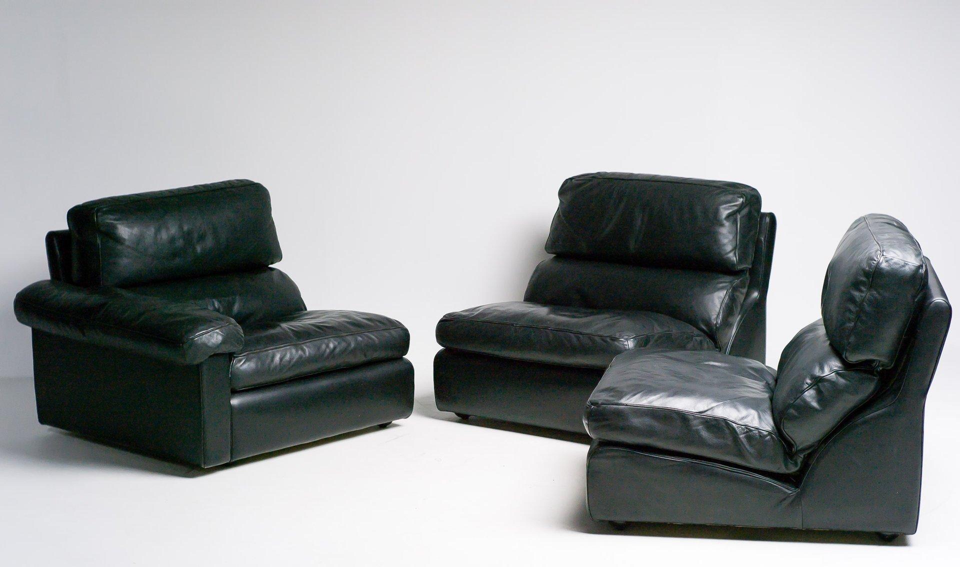 italienisches modulares sofa von tito agnoli f r poltrona frau 1970er bei pamono kaufen. Black Bedroom Furniture Sets. Home Design Ideas