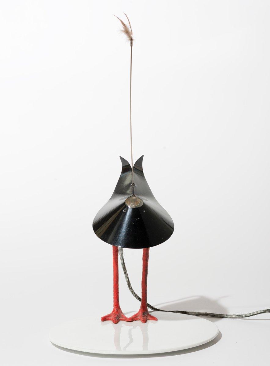 deutsche bibibibi lampe aus metall und porzellan von ingo maurer 1982 bei pamono kaufen. Black Bedroom Furniture Sets. Home Design Ideas