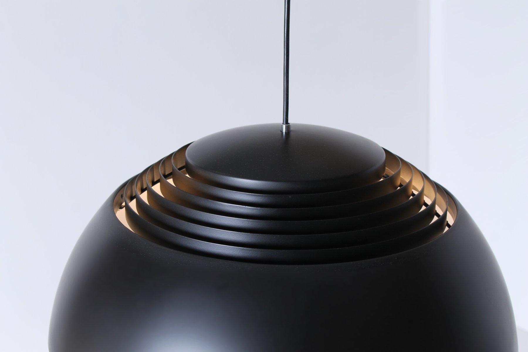 Dänische Black Royal Hängelampe von Arne Jacobsen für Louis Poulsen, 1...