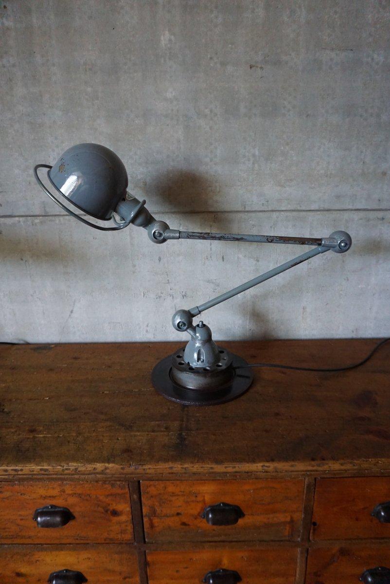Industrielle Tischlampe mit Gelenkarm von Jieldé, 1950er