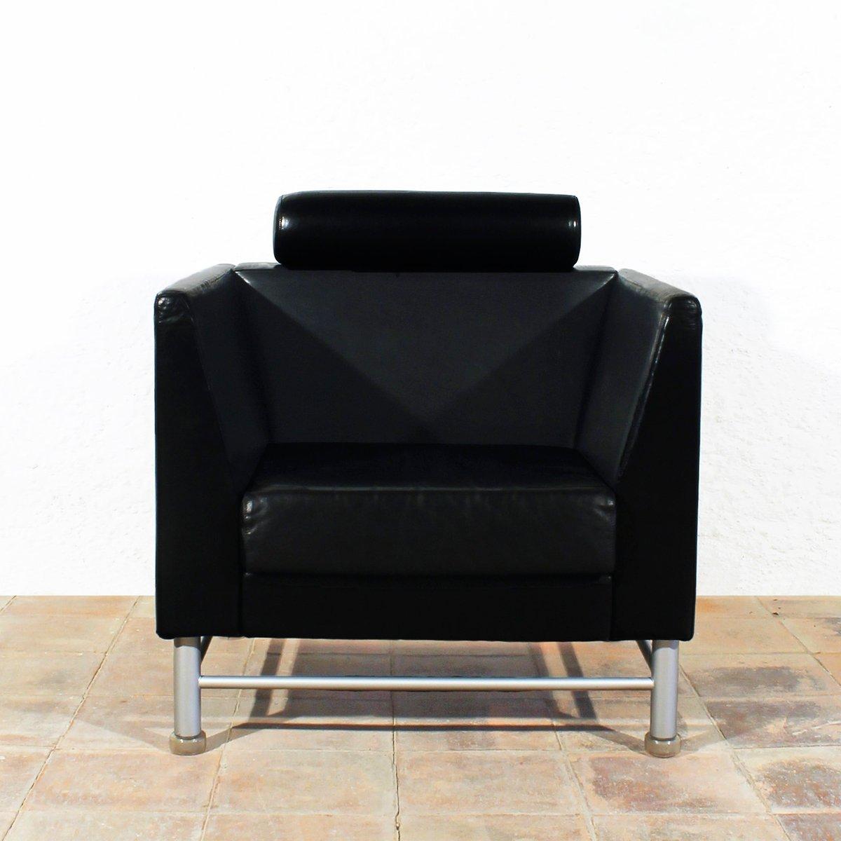 eastside lounge st hle von ettore sottsass f r knoll 1980er 2er set bei pamono kaufen. Black Bedroom Furniture Sets. Home Design Ideas