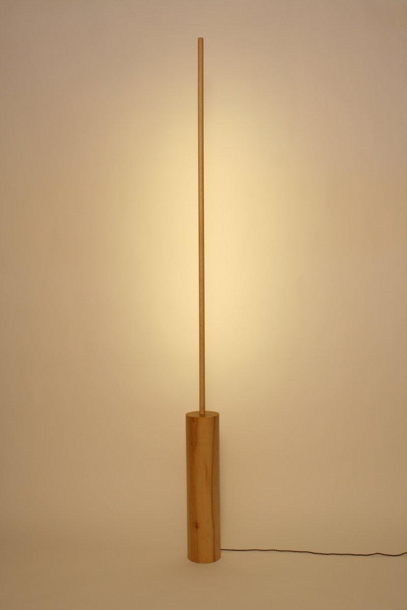 Circle Line Light aus Ahornholz von Noah Spencer für Fort Makers