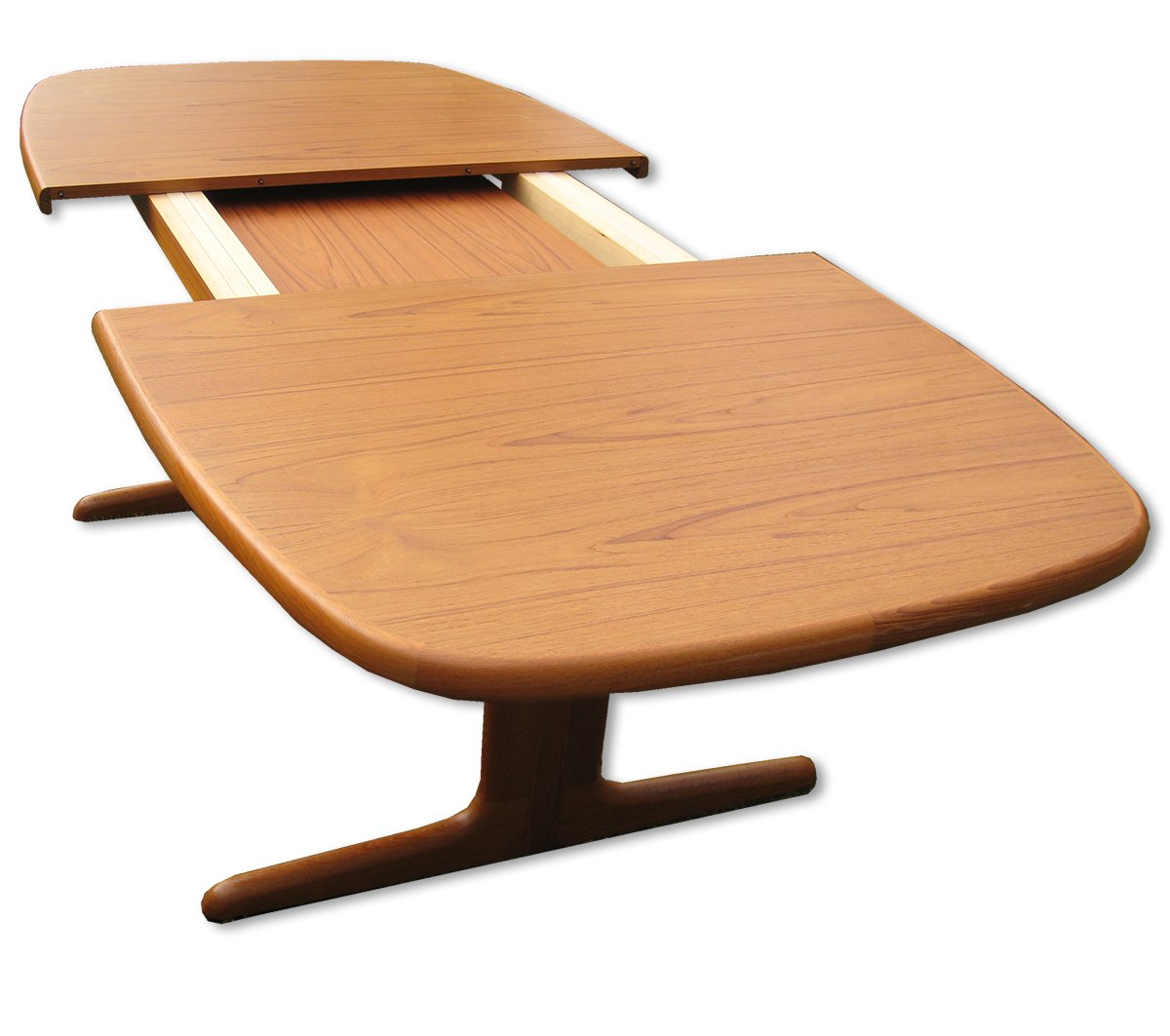 Danish Extendable Oval Teak Dining Table From Skovby 1970s 4 1 029 00 Price Per Piece