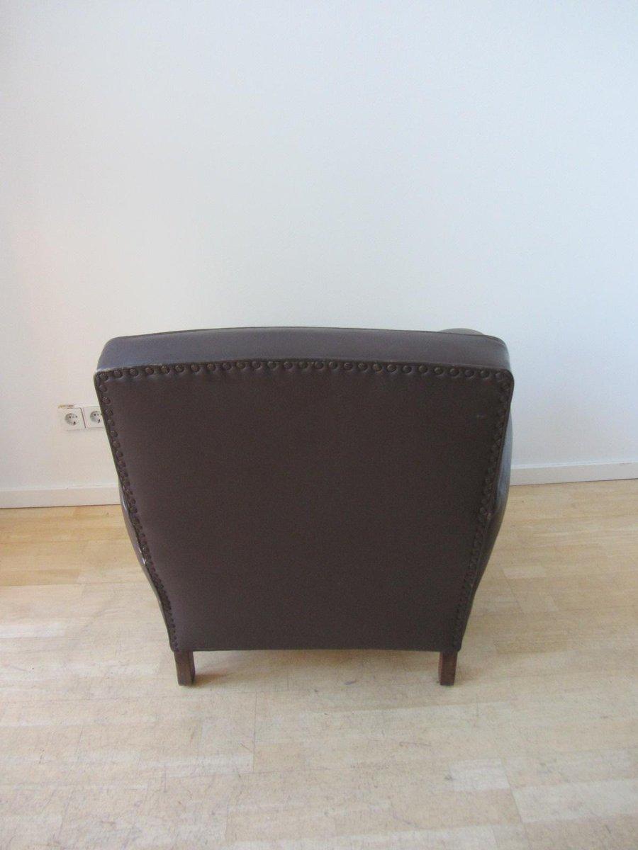 petit fauteuil club france 1940s en vente sur pamono. Black Bedroom Furniture Sets. Home Design Ideas
