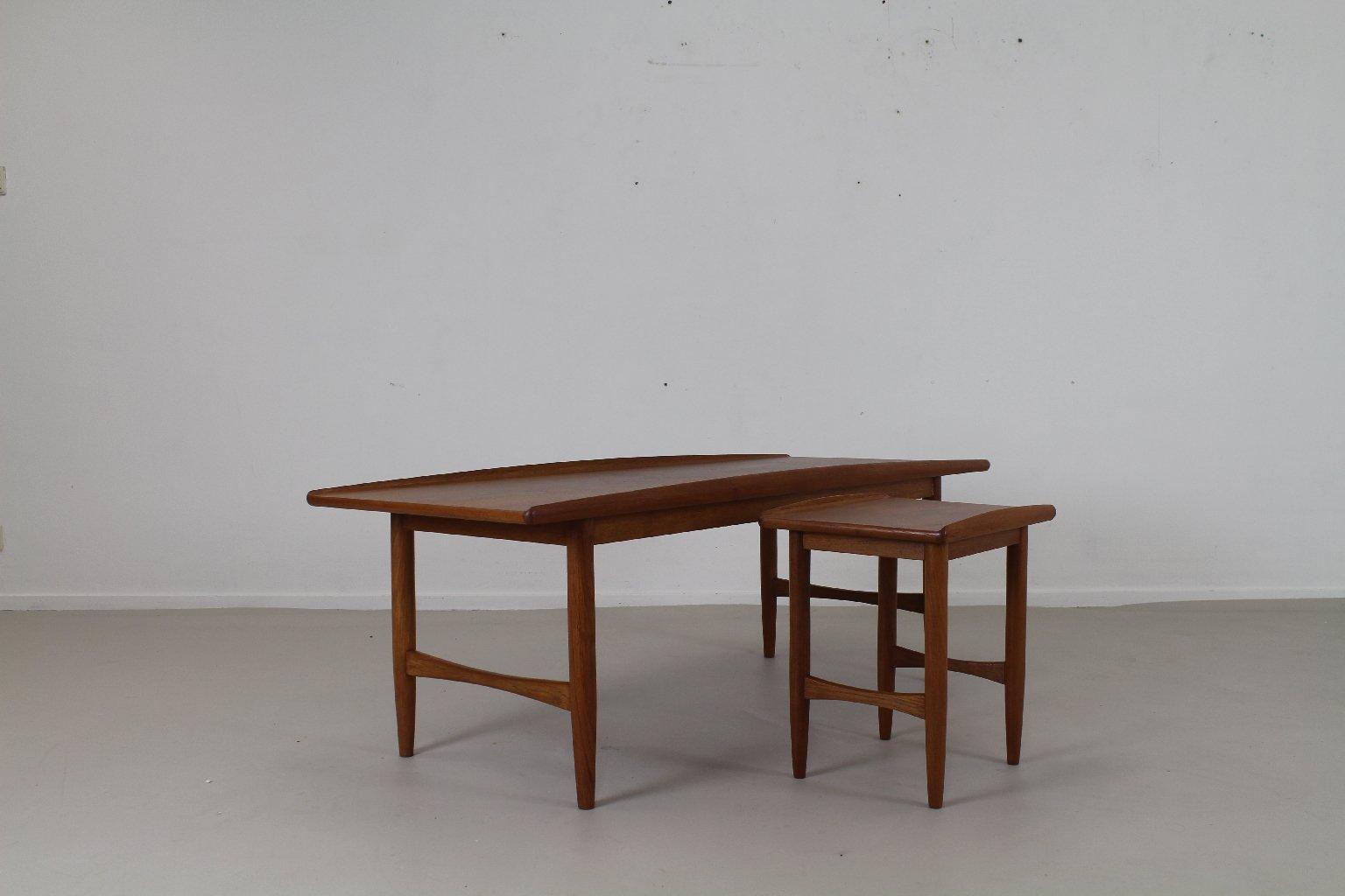 Dänische Teak Couchtische, 1960er