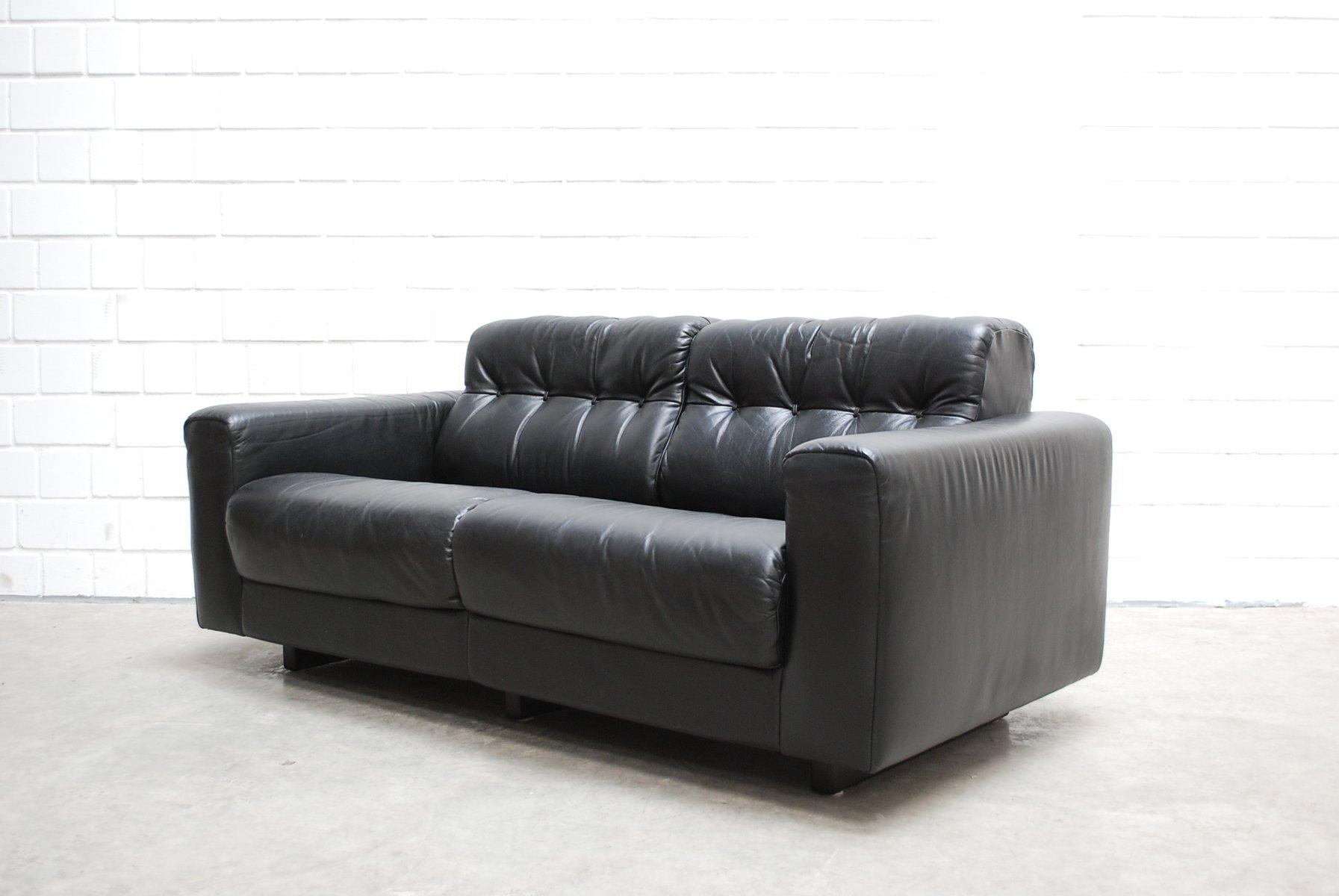 ds 40 wohnzimmerset aus leder von de sede bei pamono kaufen. Black Bedroom Furniture Sets. Home Design Ideas