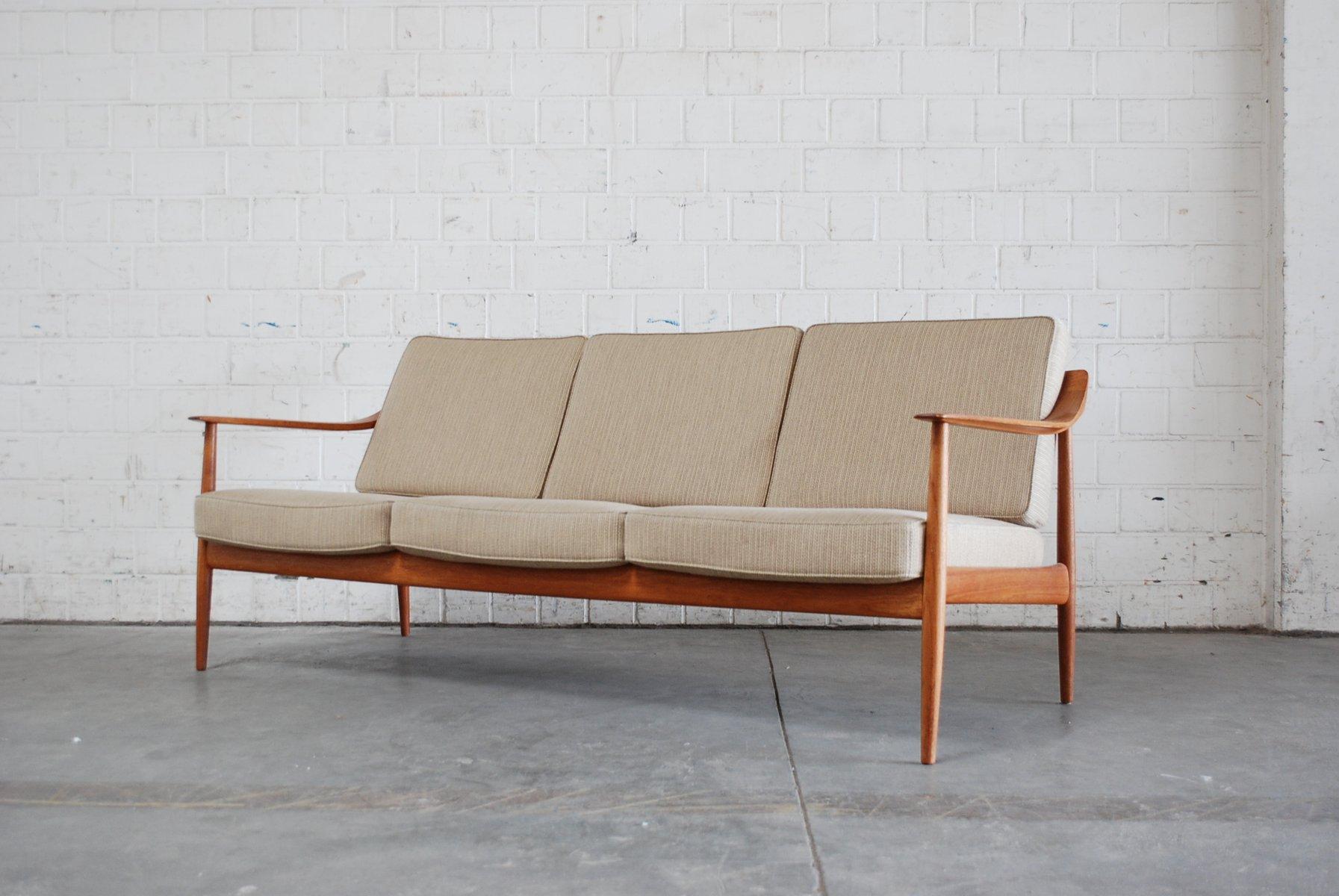 Dänisches Teak Sofa von Knoll Antimott bei Pamono kaufen