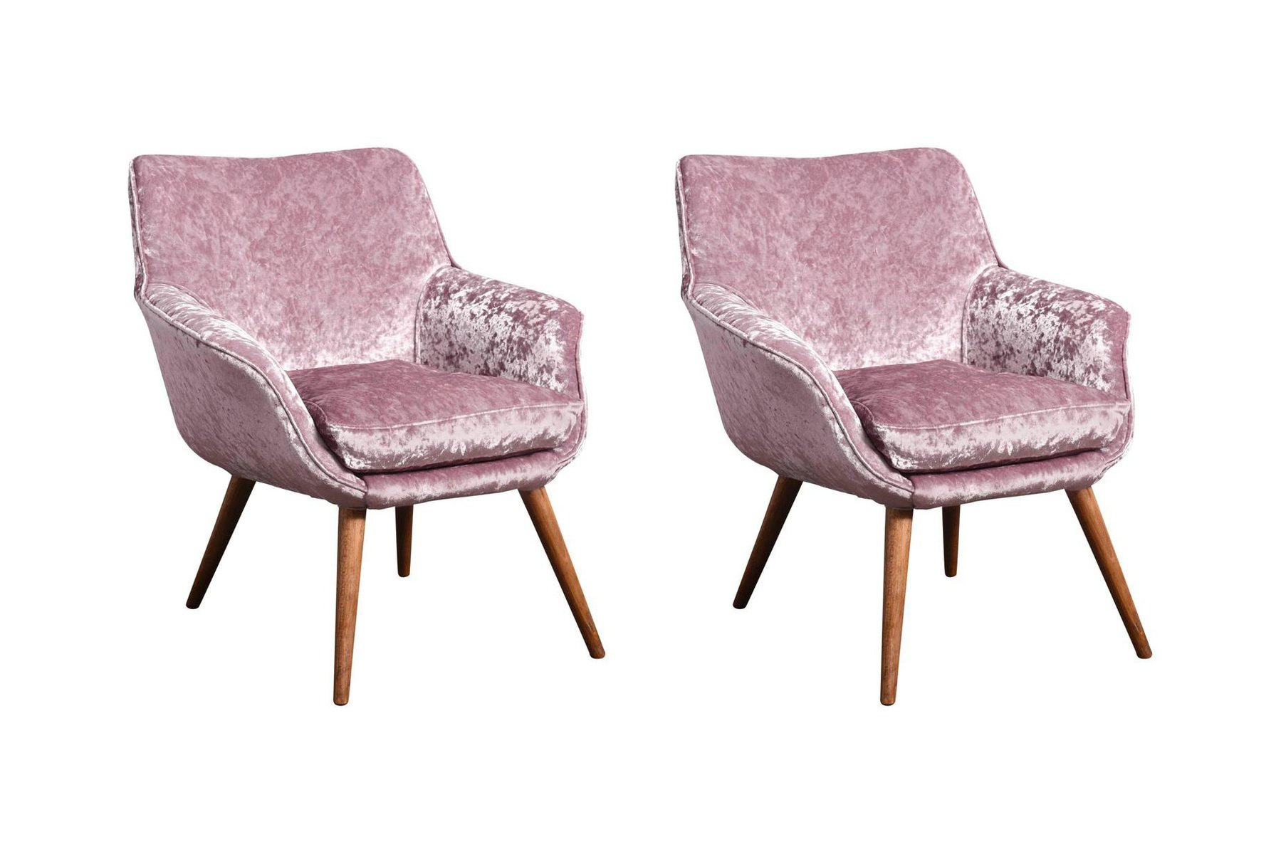 ash and velvet cocktail chairs 1960s set of 2 for sale at pamono. Black Bedroom Furniture Sets. Home Design Ideas