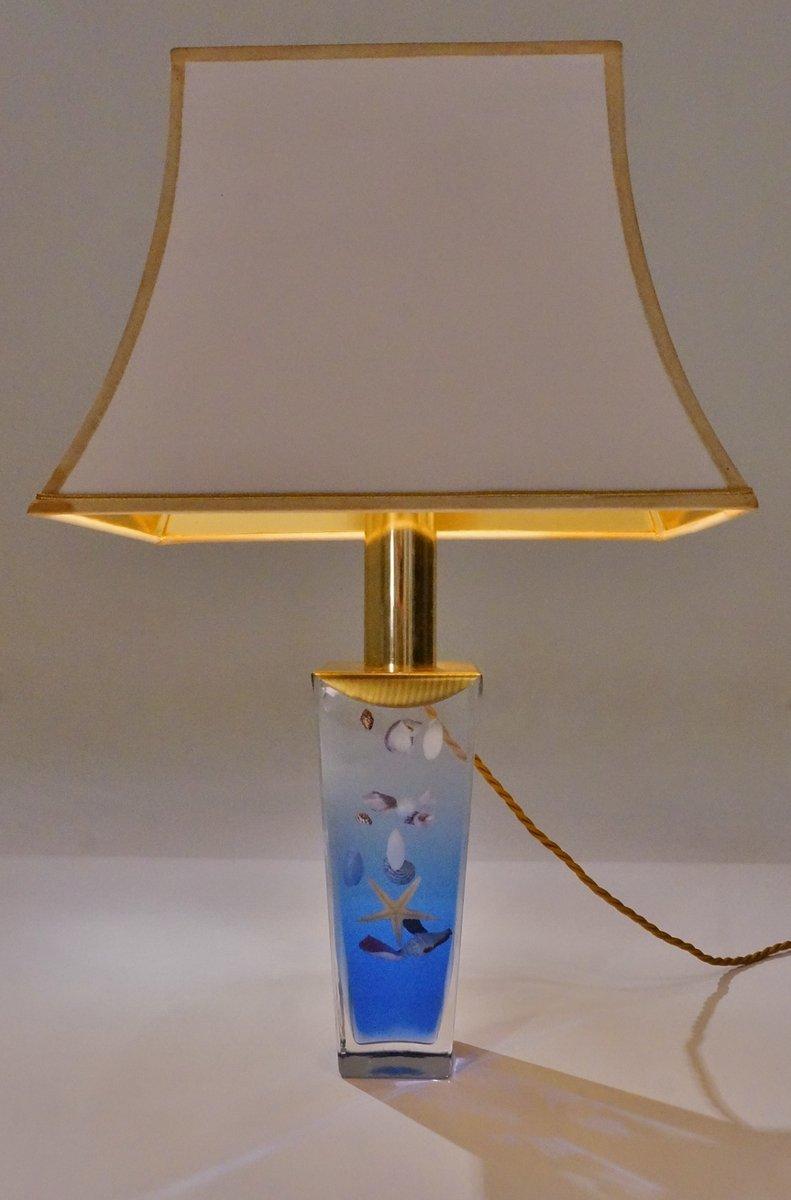 lampe de bureau aquarium vintage italie en vente sur pamono. Black Bedroom Furniture Sets. Home Design Ideas