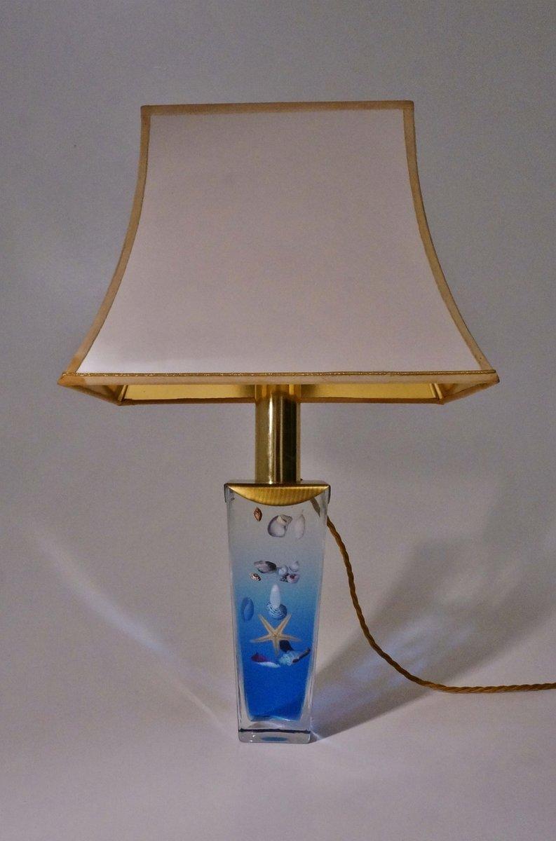 italienische Vintage Aquarium Tischlampe