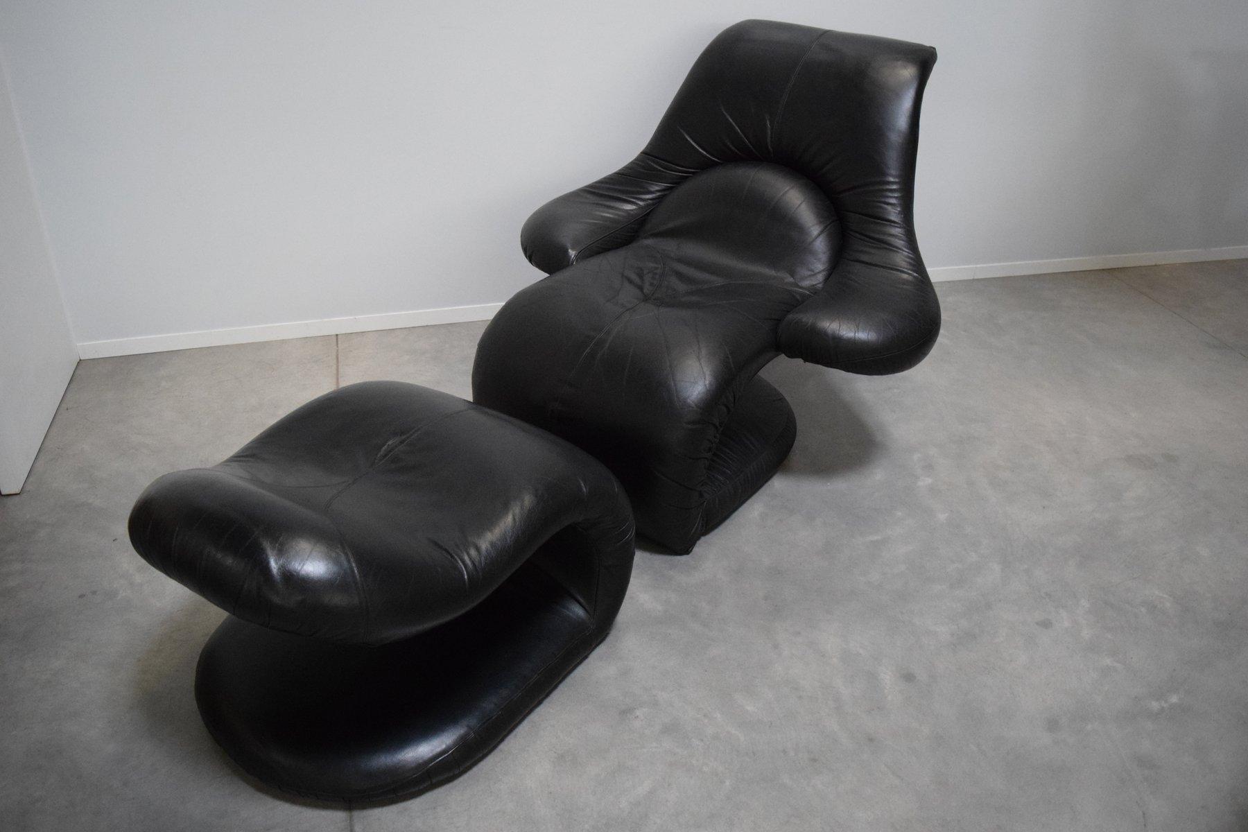 Italienischer Relax Sessel von Vittorio Introini für Felice Rossi, 197...