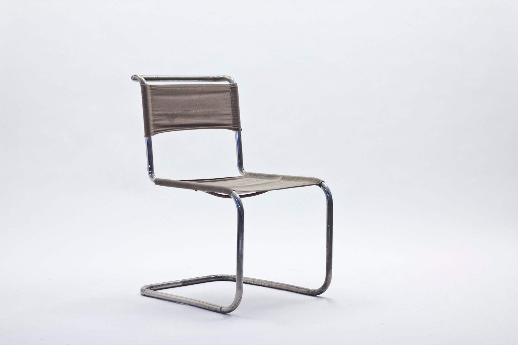 B33 Cantilevered Chair By Marcel Breuer U0026 Mart Stam For Thonet, 1930s