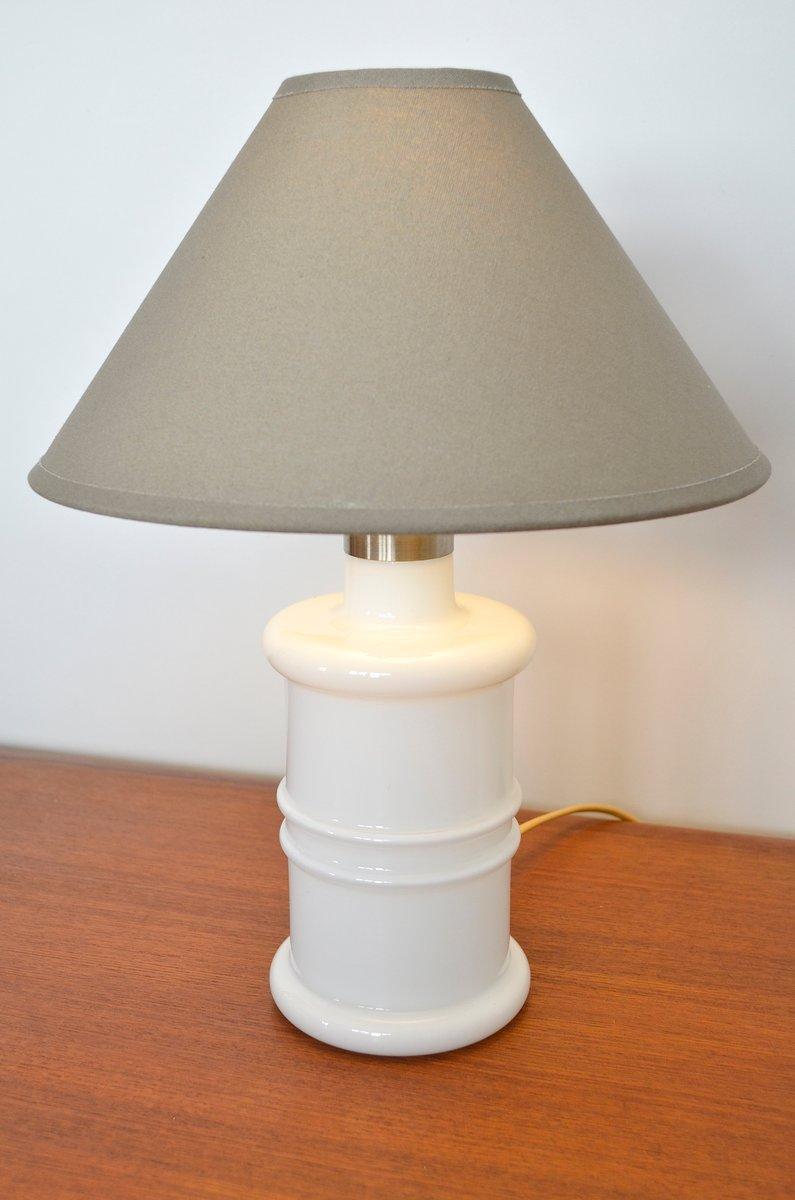 Dänische Tischlampe von Sidse Werner für Holmegaard, 1981